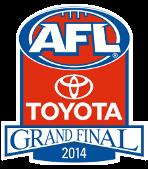 AFL Grand Final 2014 logo