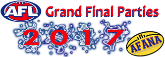 2017 AFL Grand Final parties AFANA logo