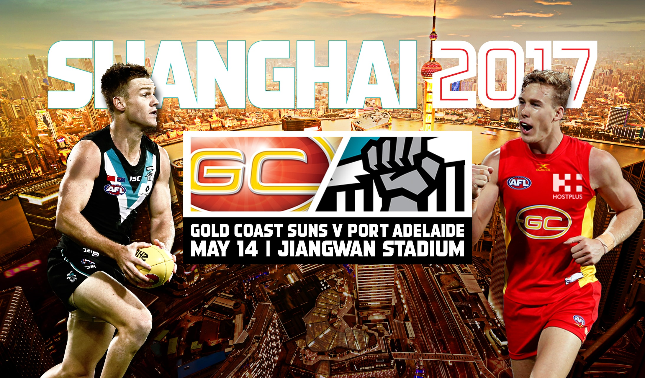 Watch the historic AFL game in Shanghai free!
