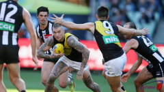 Dustin Martin in action