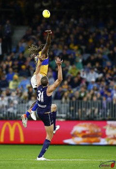 AFL West Coast v Fremantle, Round 16, Optus Stadium.