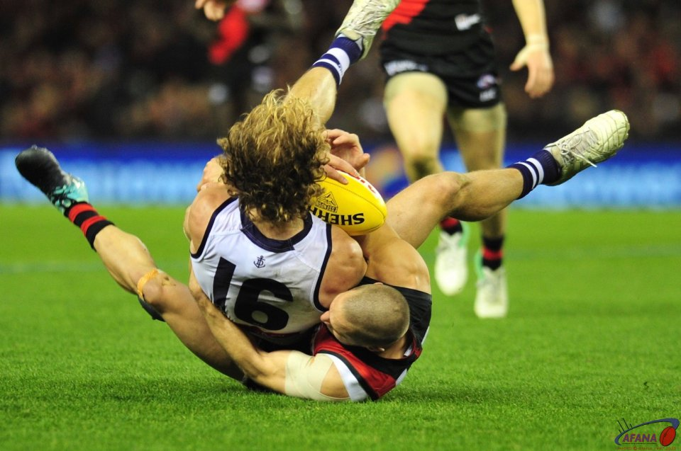 Mundy is caught by Zaharakis