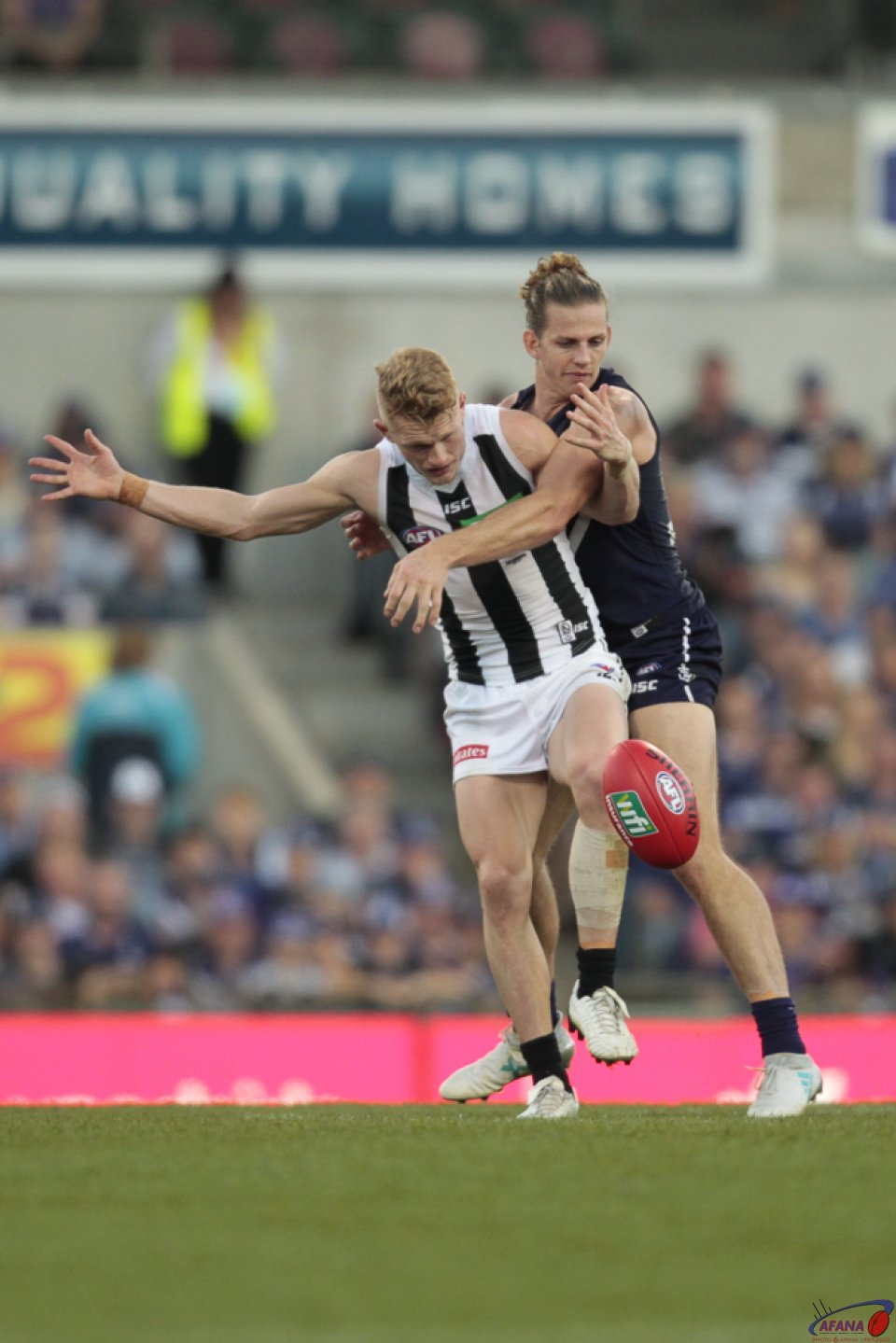 Treloar Tackled