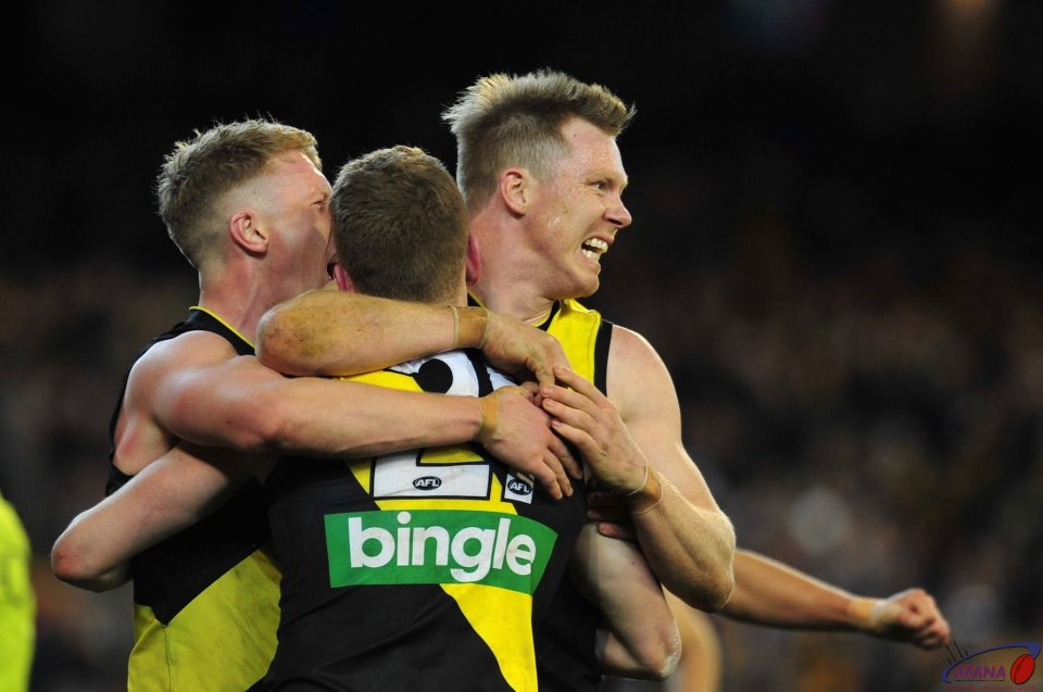 Winners are grinners as Tigers celebrate