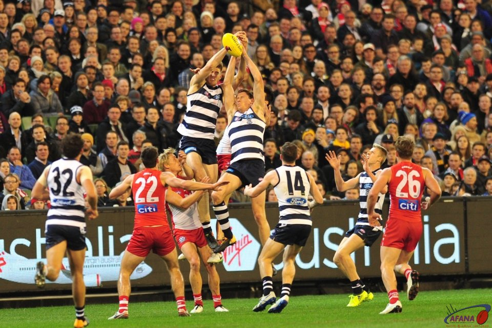 Cats tall timber compete for the defensive mark