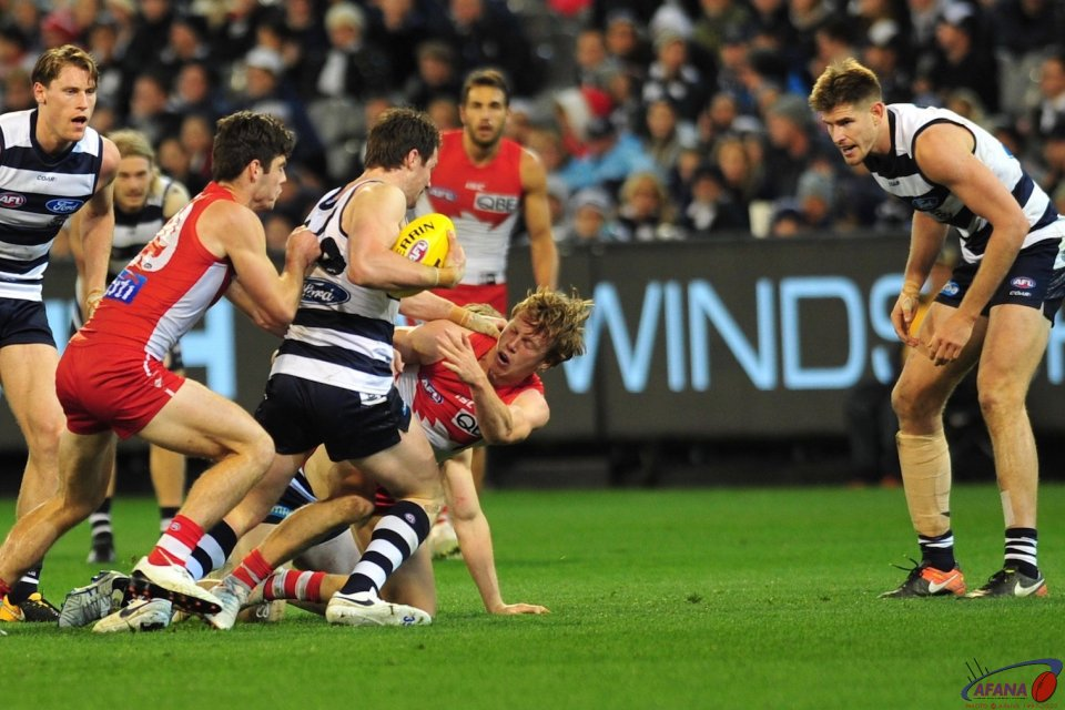 Dangerfield gets double teamed