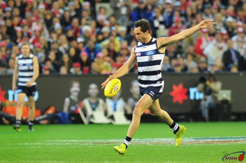 Daniel Menzel shoots for goal