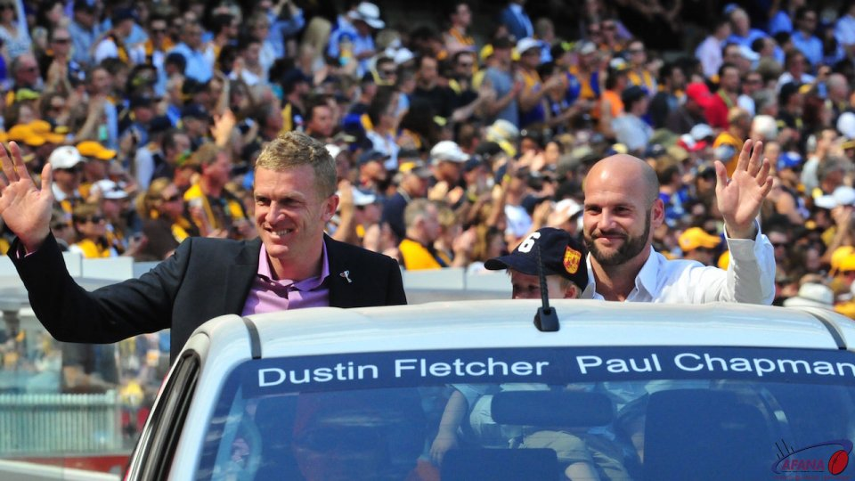 Fletch and Chappy retire