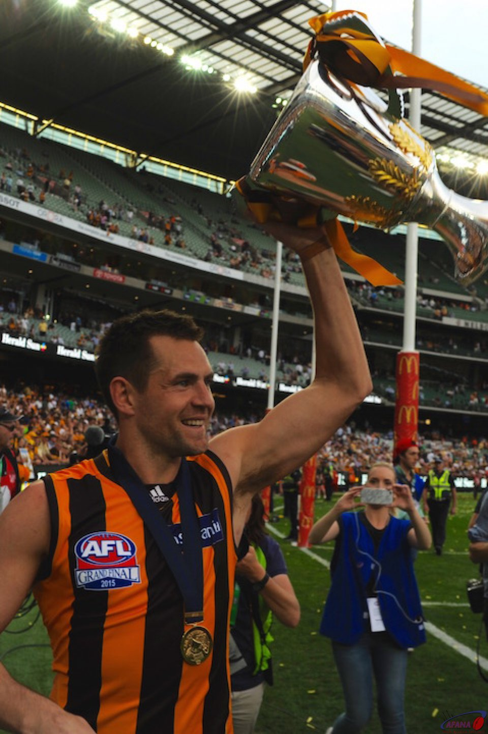Premiership Captain Luke Hodge