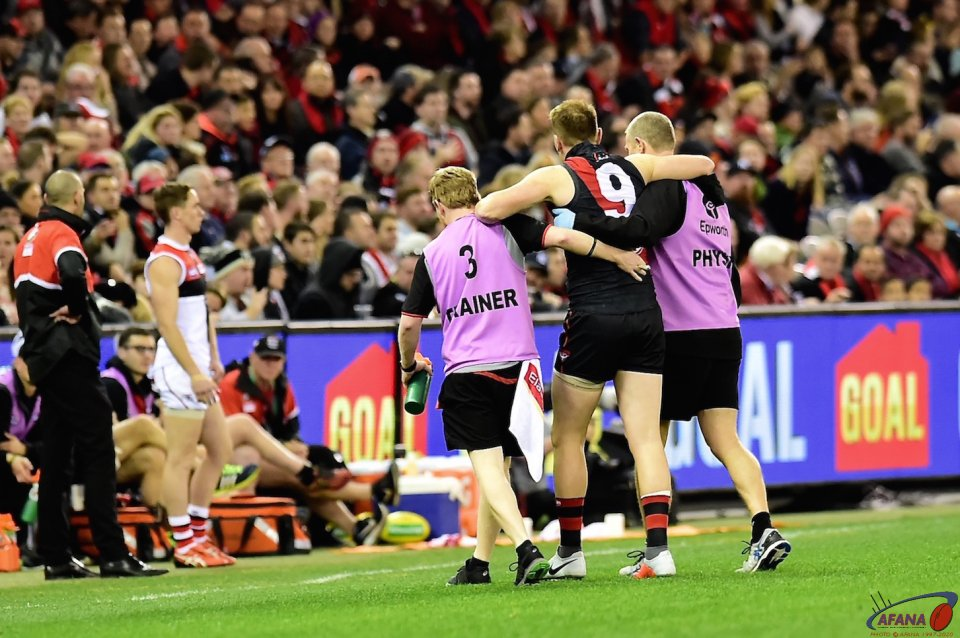 Brendon Goddard knee injury
