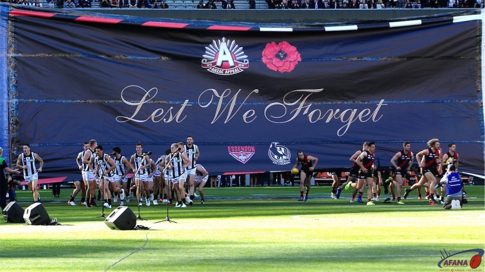 ANZAC day Banner