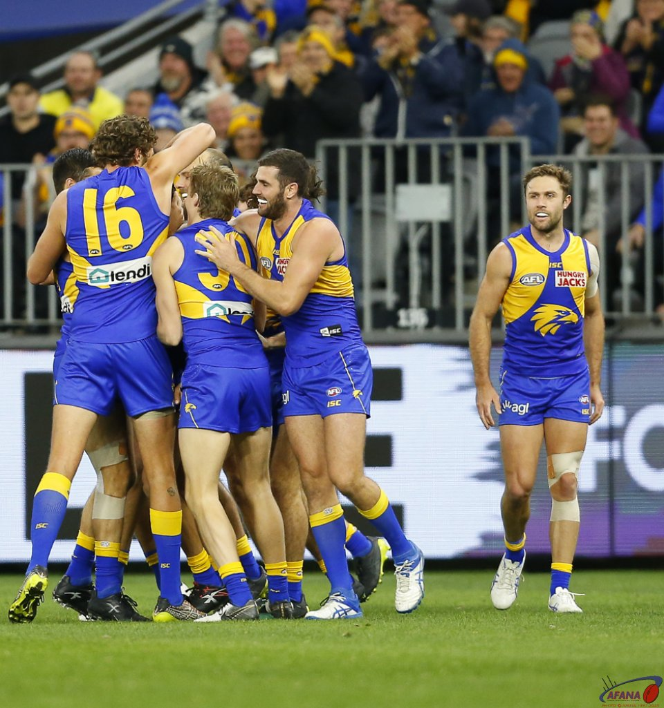 AFL West Coast v Essendon, Round 14, Optus Stadium.