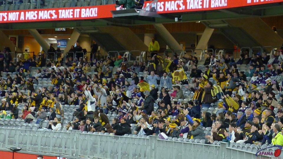 Hawk Supporters In Perth