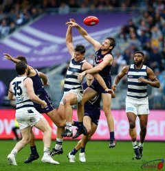 AFL Fremantle v Geelong, Round 20, Optus Stadium.
