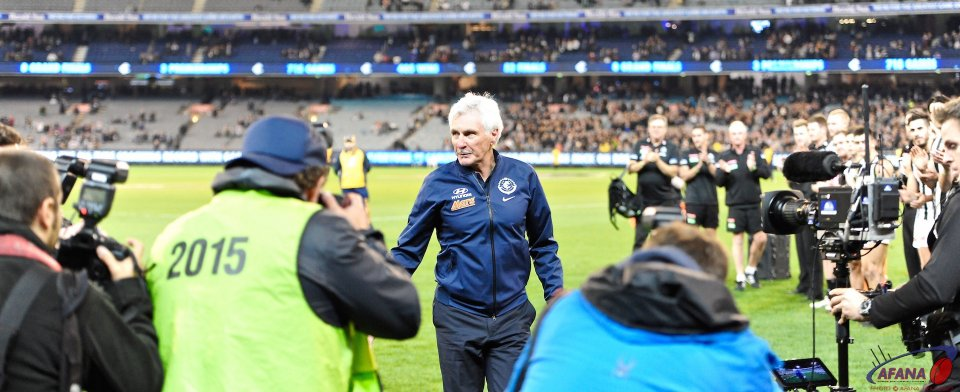 Michael Malthouse acknowledges the accolades