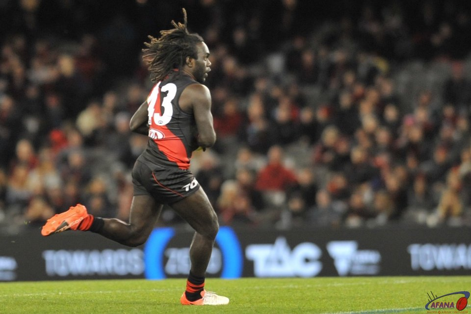Anthony Macdonald-Tipungwuti creaste some midfield run and excitement