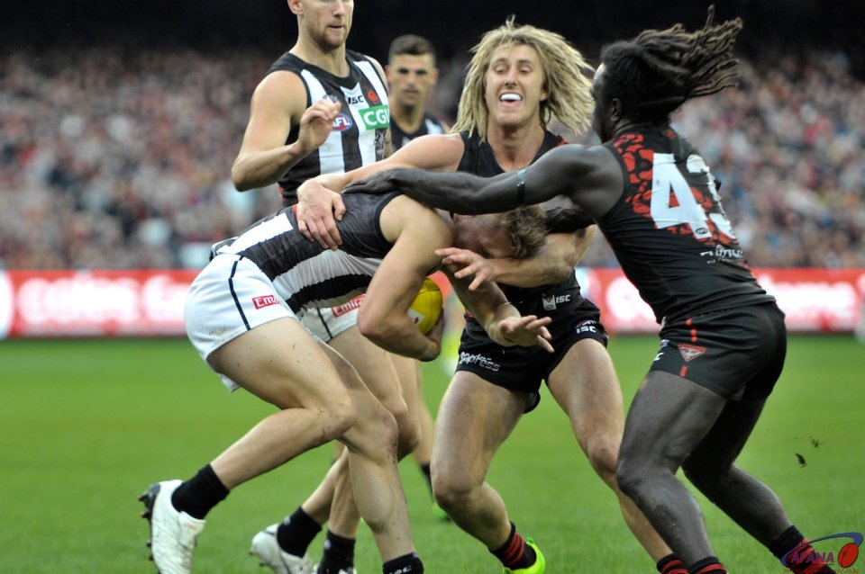 Tippa and Heppell rack up the tackles