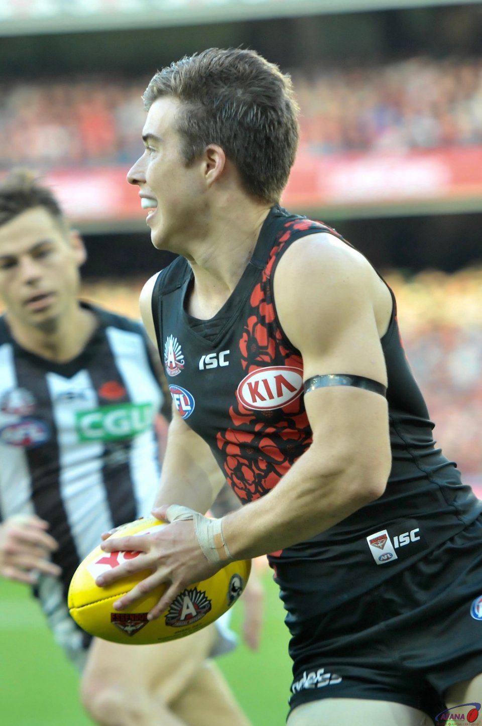 Zach Merrett one of the games rsisng stars