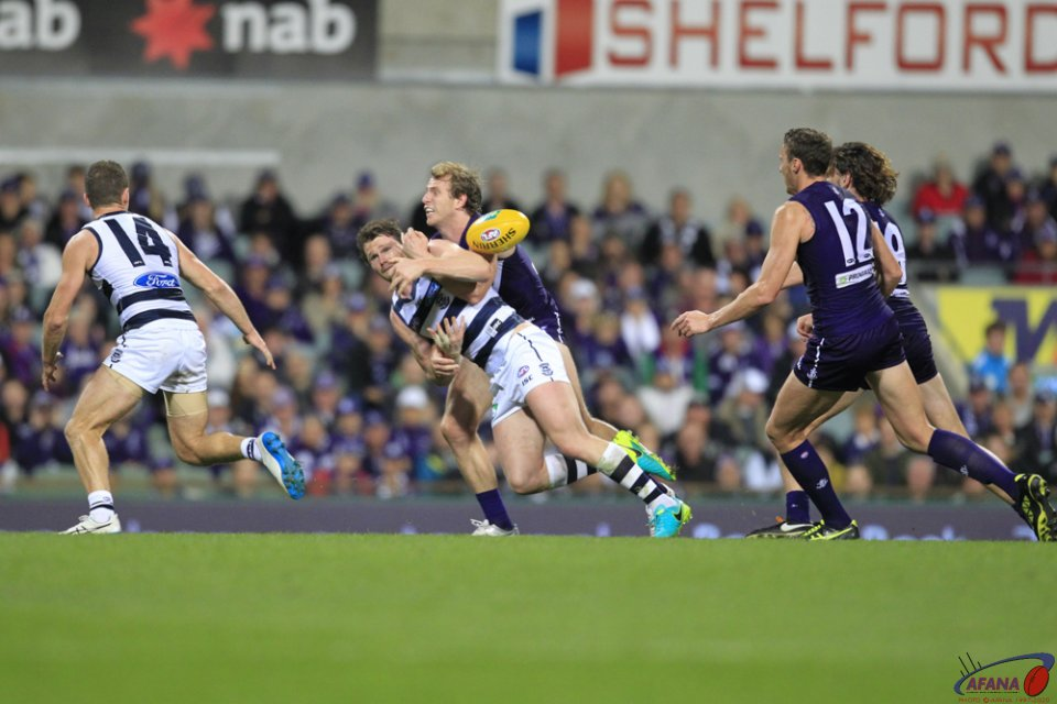 Dangerfield Tackled