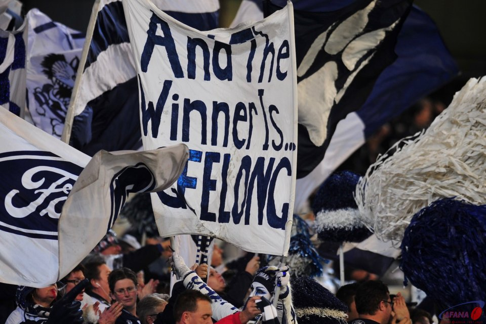 And the winner is Geelong