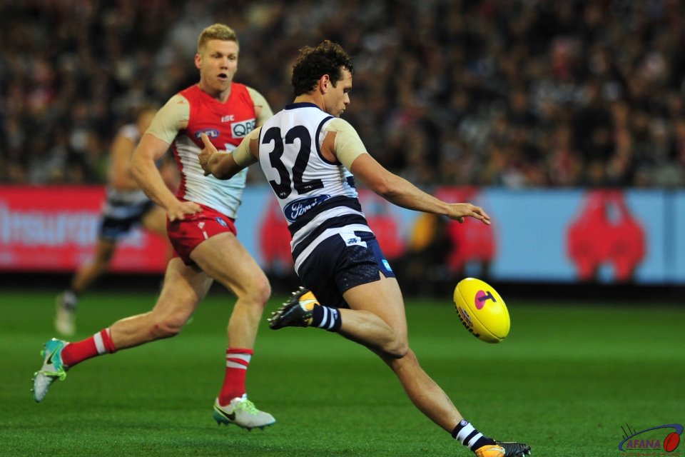 Motlop drives the Cats forwrard