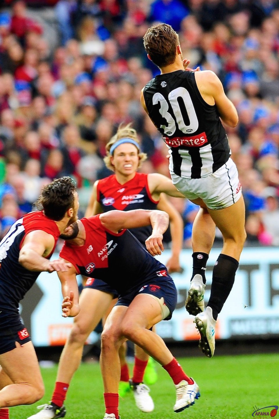 Darcy Moore marks