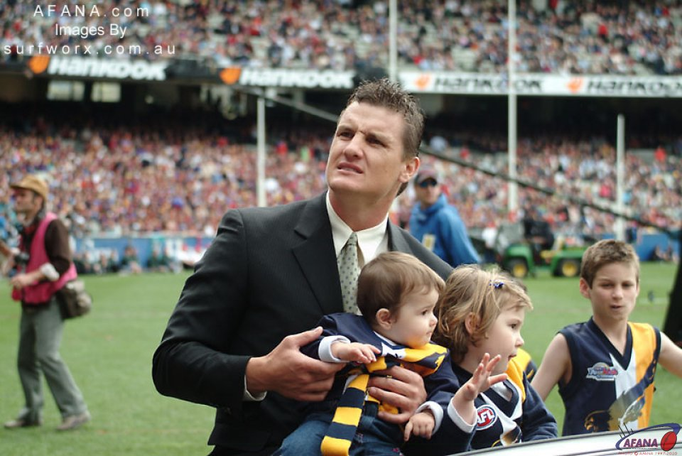 Glen Jackovich, retired great from the West Coast Eagles.