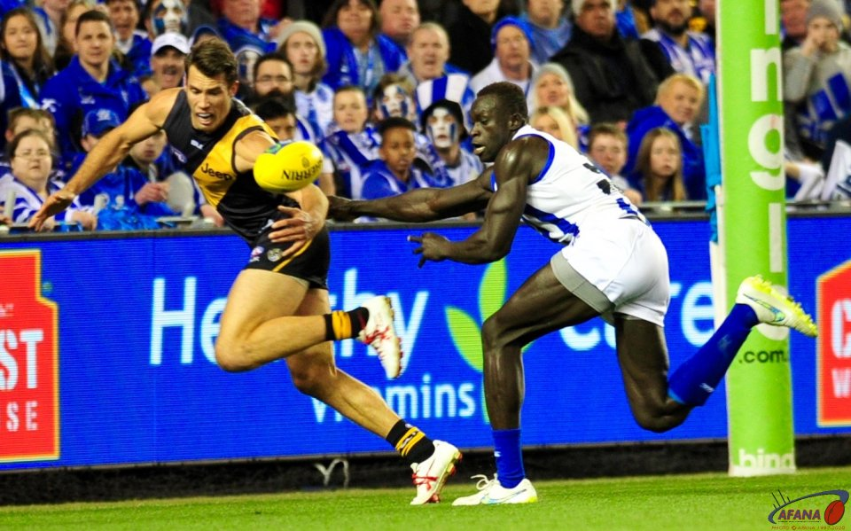Majak chases Rance