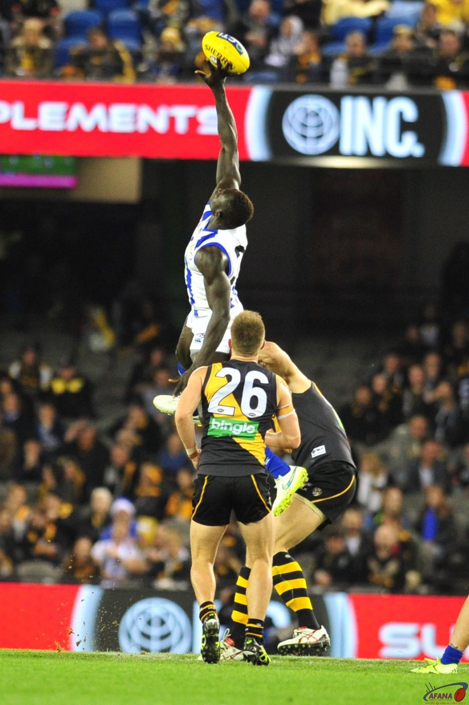 Majak gets some air
