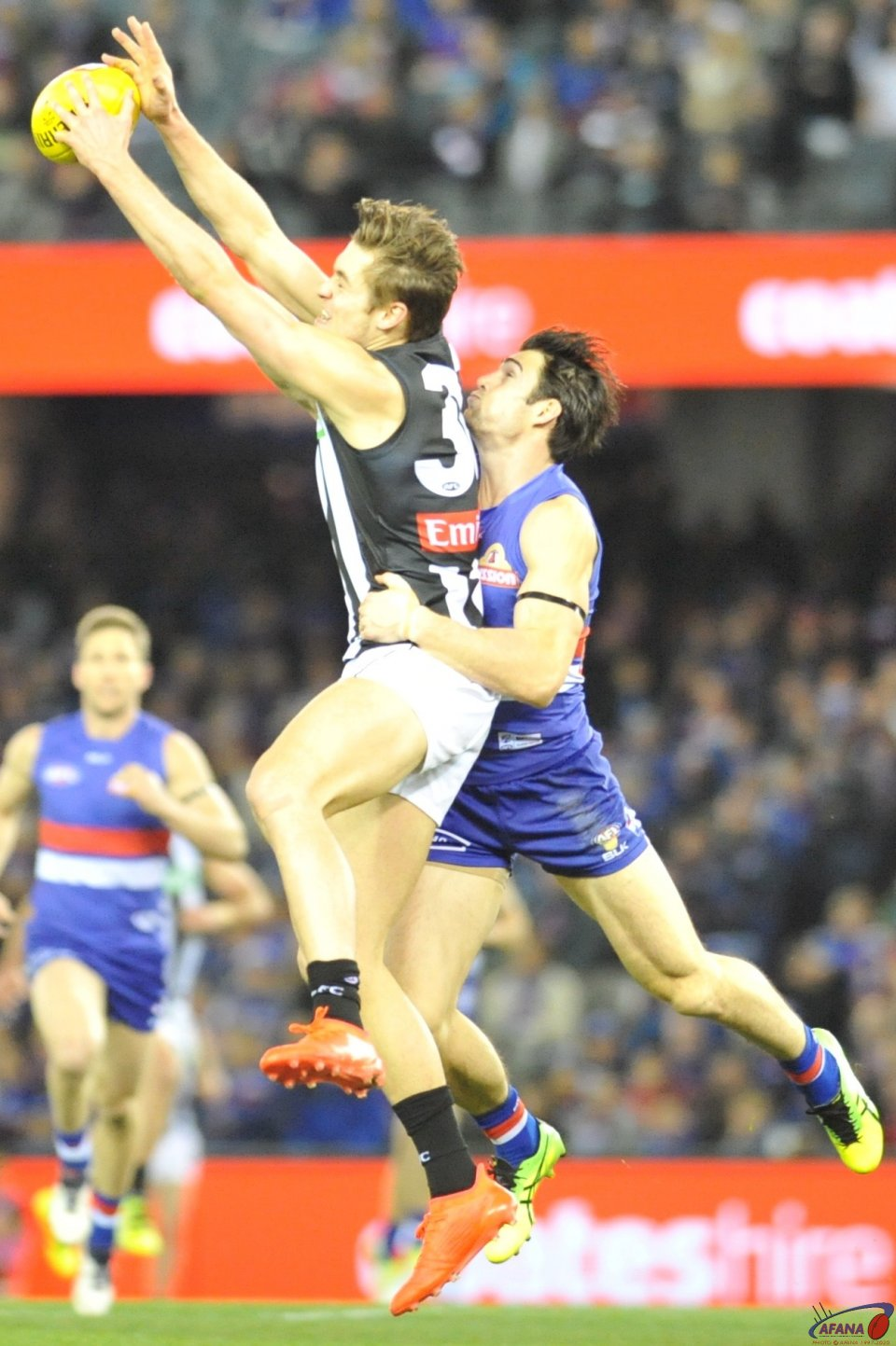 Easton Wood is just unable to spoil the Darcy Moore mark