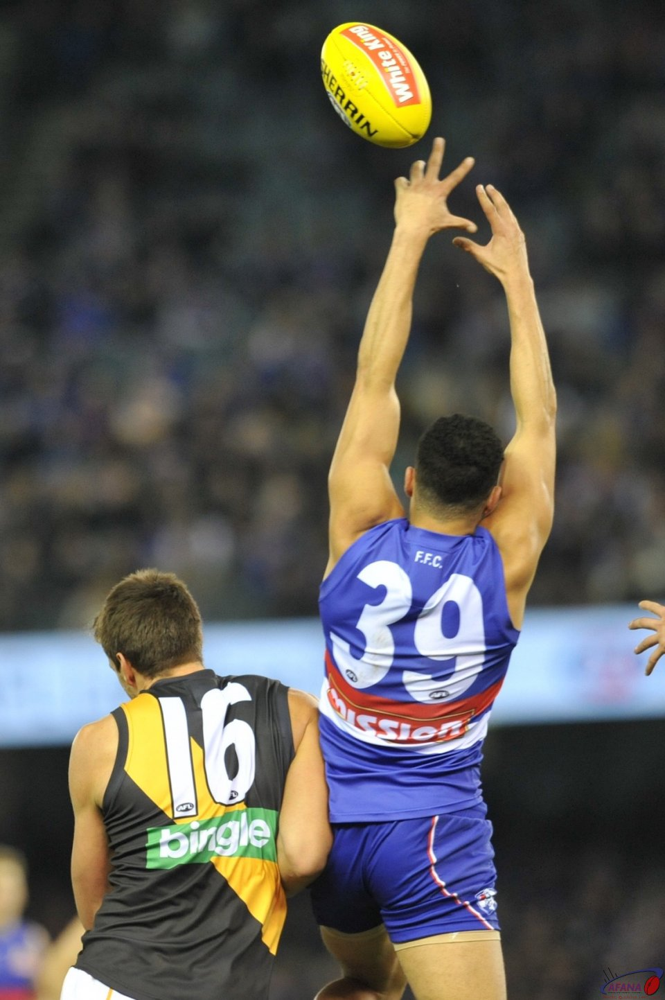 Jason Johannisen out jumps Shaun Hampson