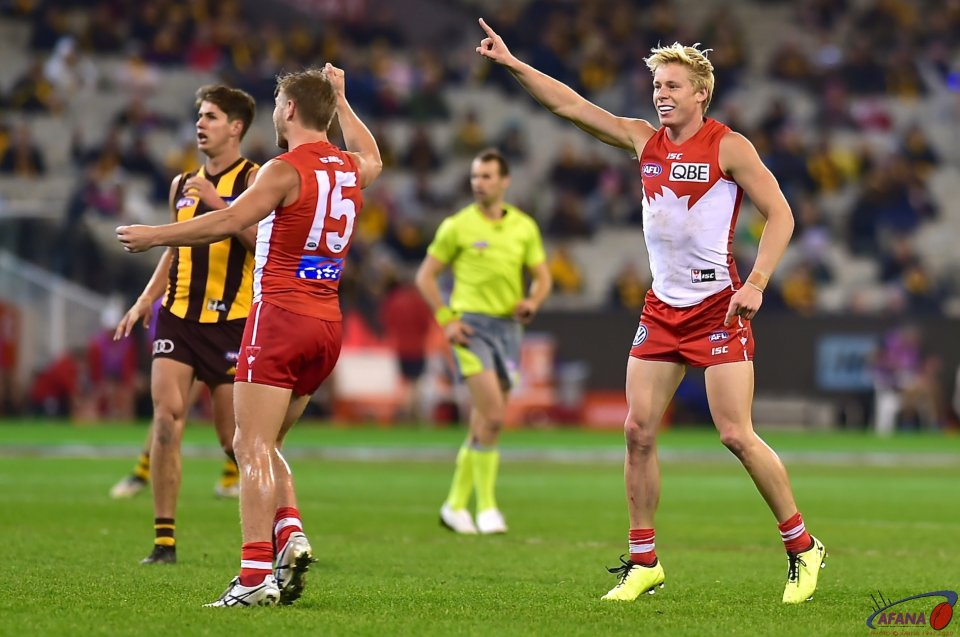 Heeney and Jack celebrate