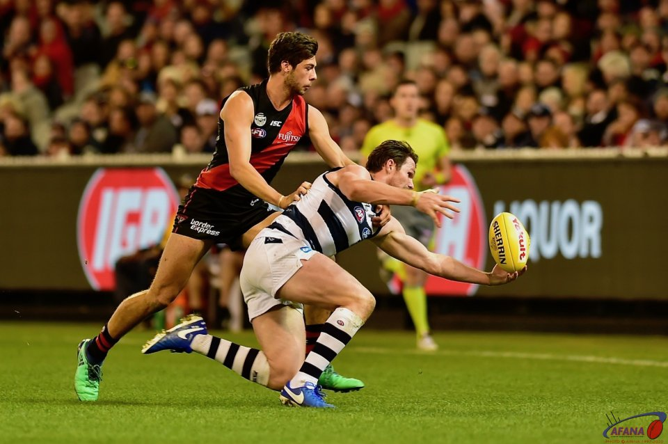 Dangerfield under pressure.