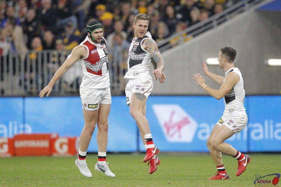 AFL West Coast v St Kilda, 2018 Optus Stadium.