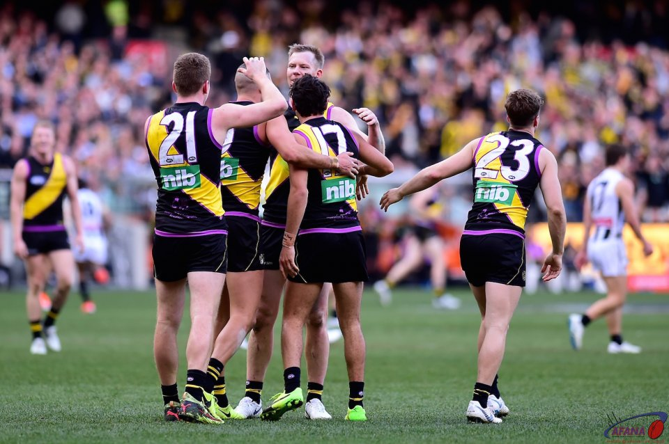 Tigers beat Magpies.