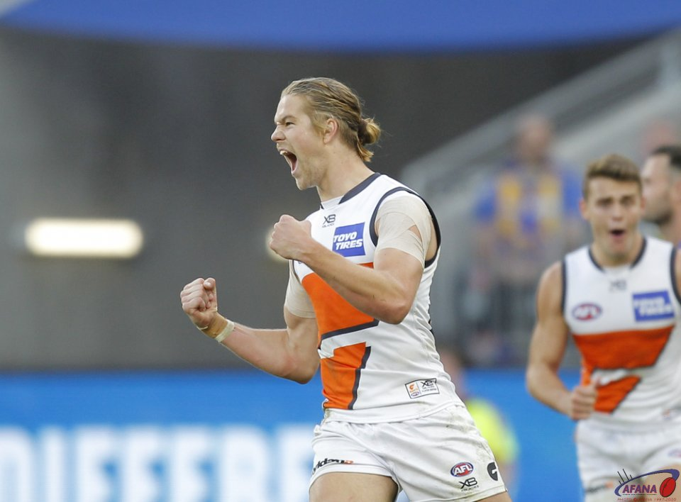 AFL West Coast v GWS, 2018 Optus Stadium.