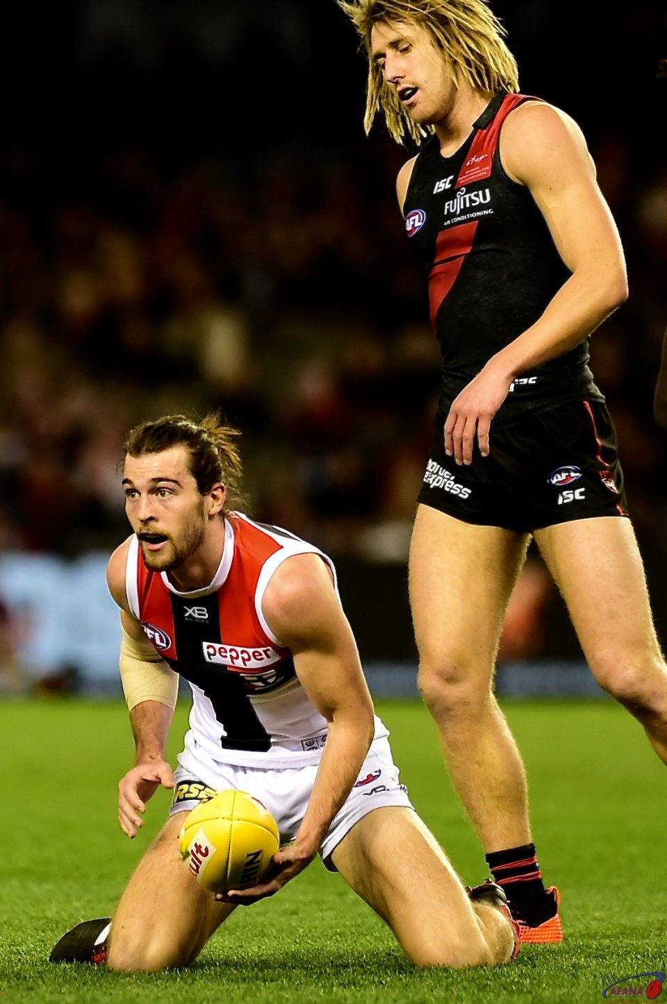 Daniel McKenzie and Dyson Heppell