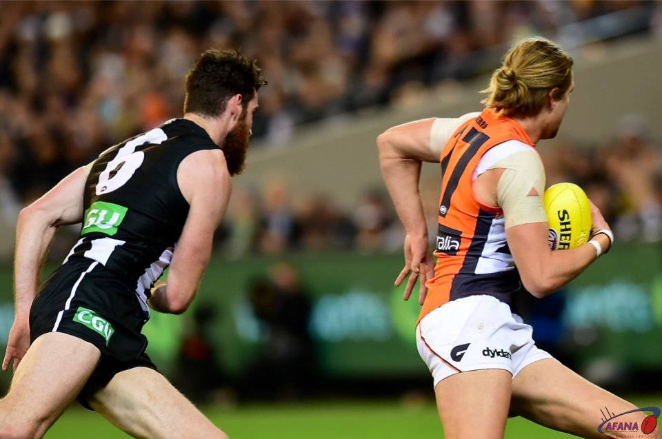 Brodie Grundy and Harry Himmelberg