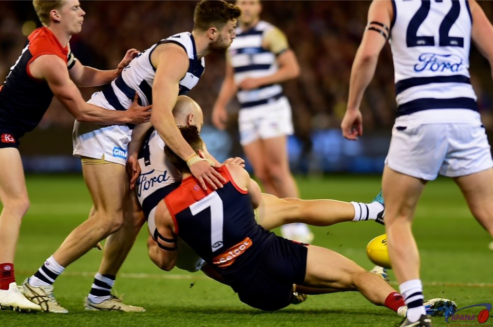 Gary Ablett and Jack Viney