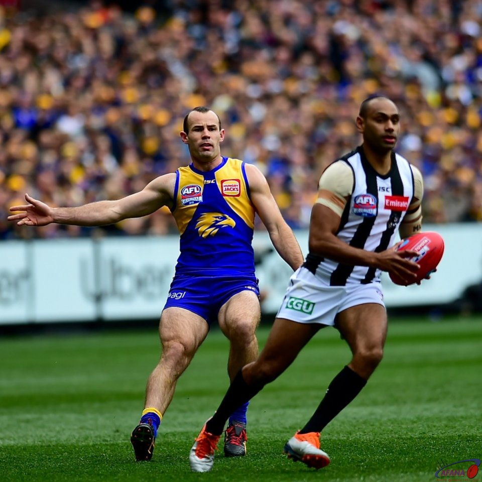 Travis Varcoe and Shannon Hurn