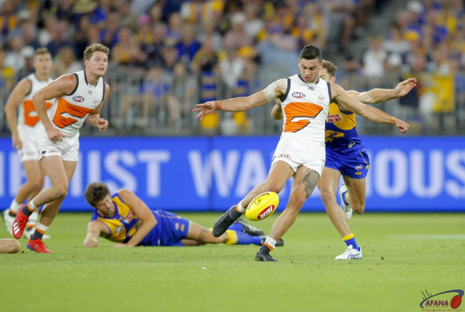 AFL West Coast v GWS, Round 2, 2019 Optus Stadium.