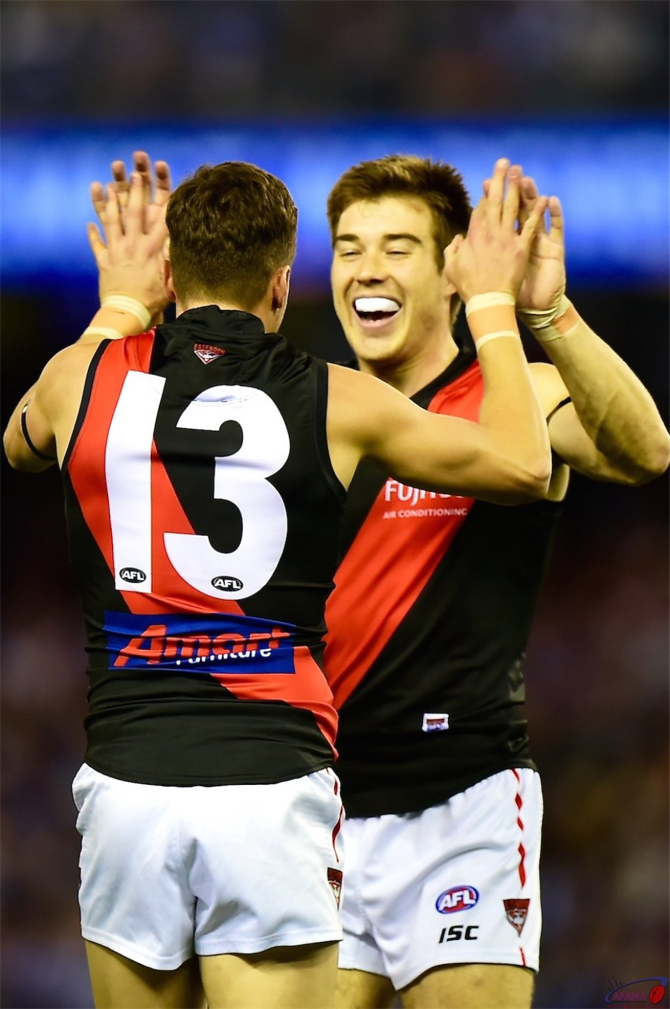 Zach Merrett and Orazio Fantasia