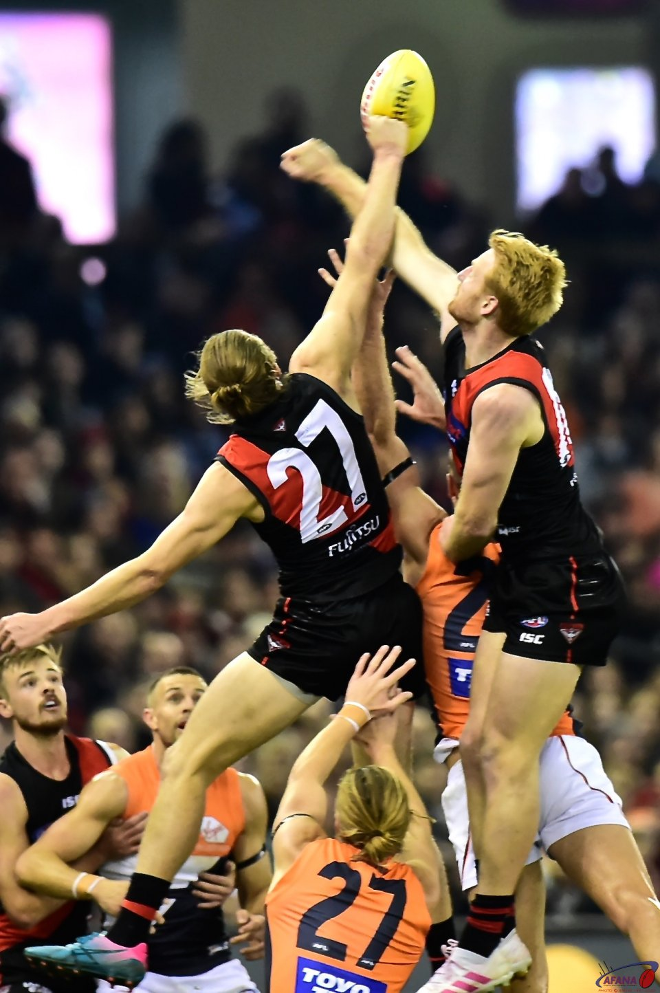 Aaron Francis and Mason Redman