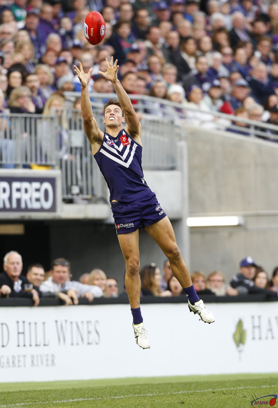 AFL Fremantle v Port Power, Round 13, Optus Stadium.