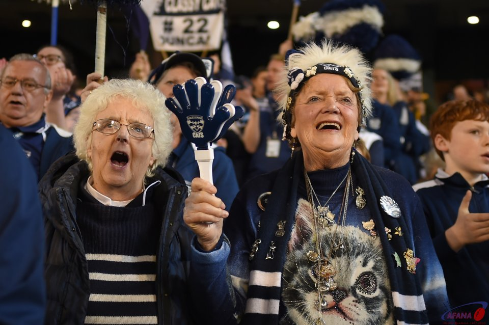 Geelong Cat fans