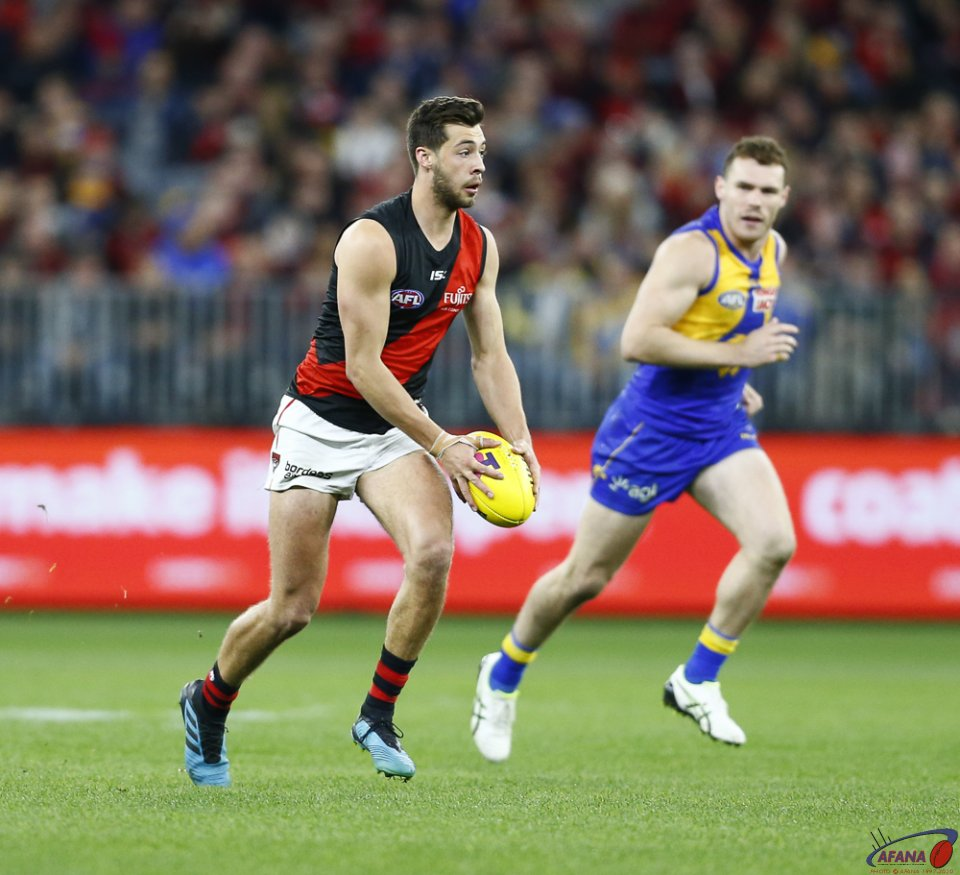 AFL First Elimination Final West Coast v Essendon, Optus Stadium.